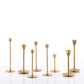 modenr gold candlestick brass candle stick