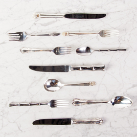 The Perfec Table vintage silver flatware rental cutlery rental toronto