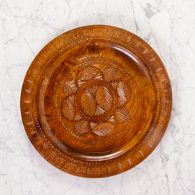 The Perfect Table - Wood Serving Boho Tray Rental