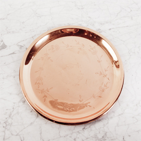 The Perfect Table - Copper Tray